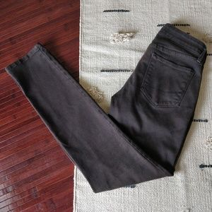 NYDJ Dark Brown Skinny Legging Jeans 0